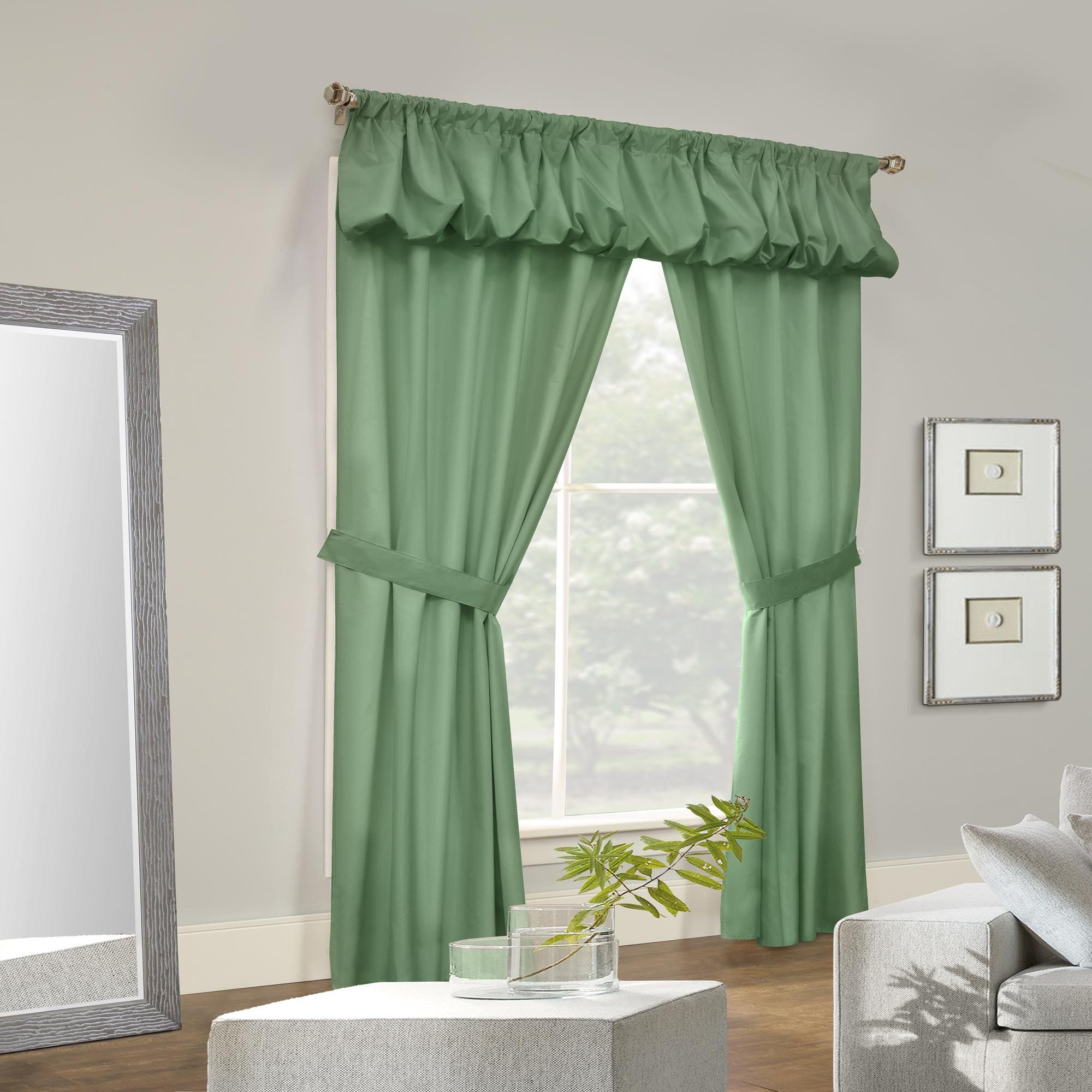 Thermalogic Prescott Energy Efficient 5 Piece Window Curtain Set