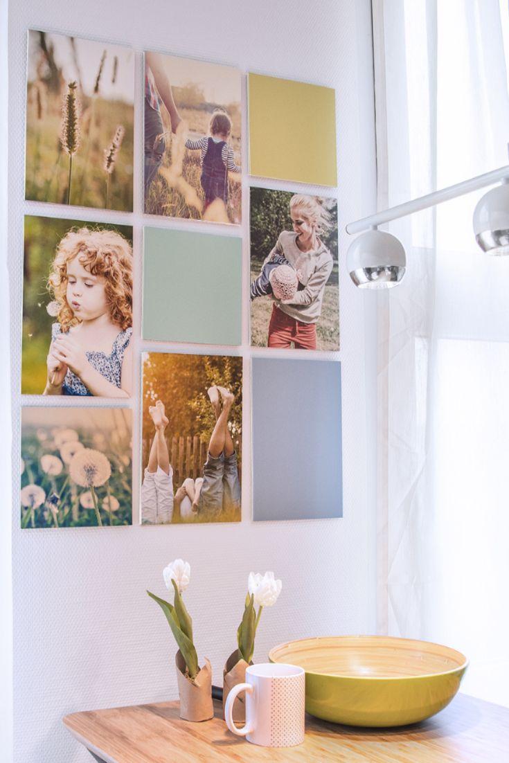 Wanddeko Selber Machen Und Ohne Bohren Aufhängen Bilderwand Gestalten Fotowand Fotos Aufhängen
