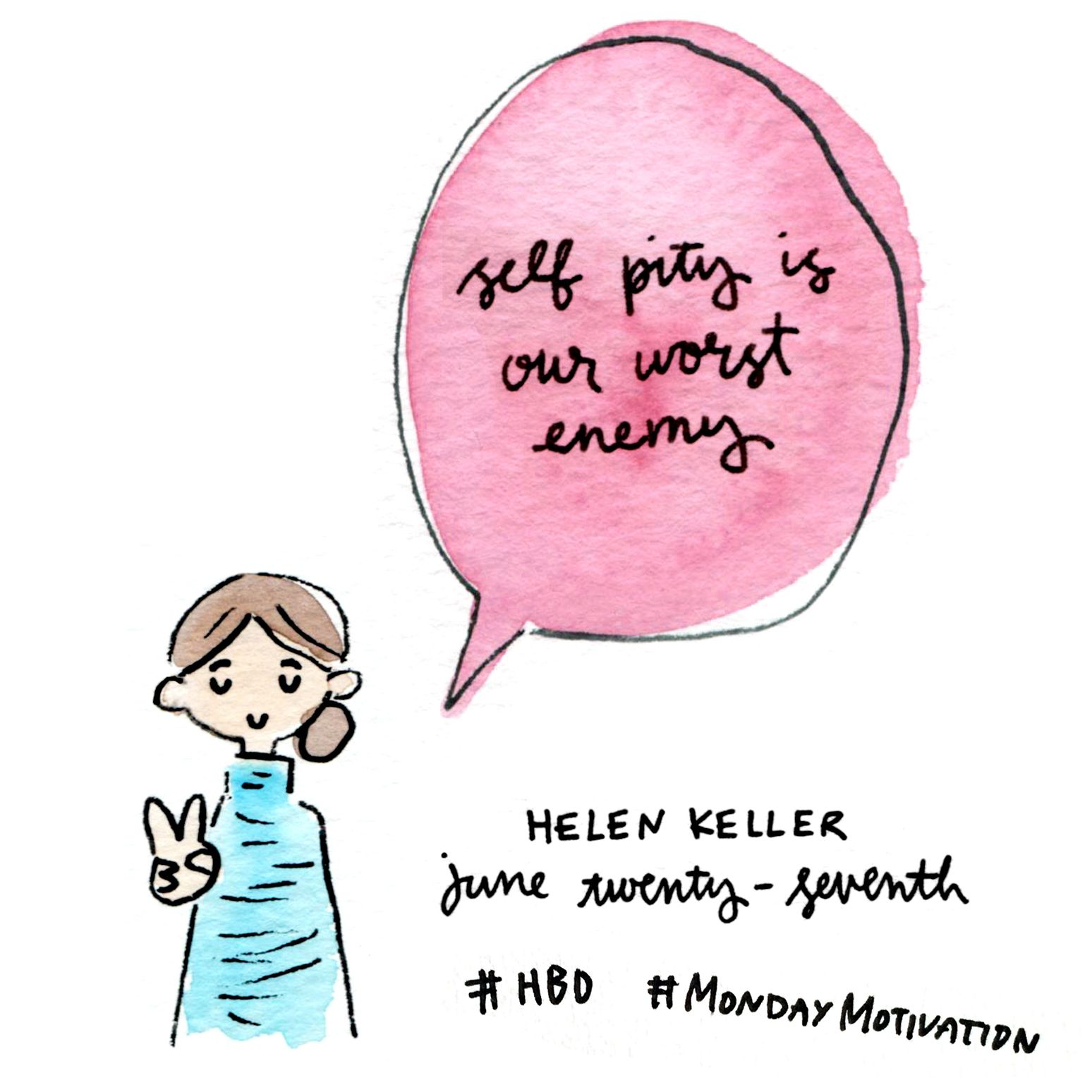 Helen Keller S Birthday Is 6 27 And She Wants You To Stop