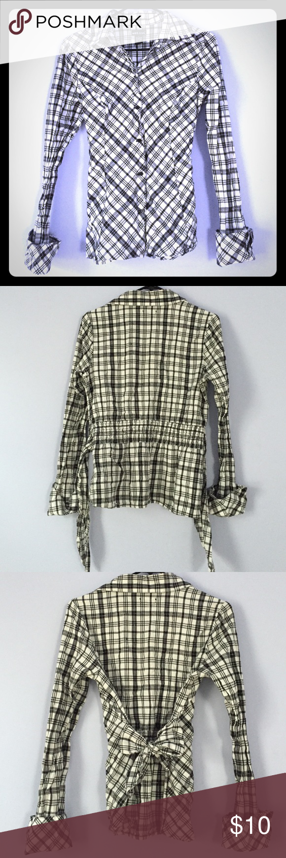 Red flannel unbuttoned  BuW Flannel Black grey and white thin flannel with a waist tie
