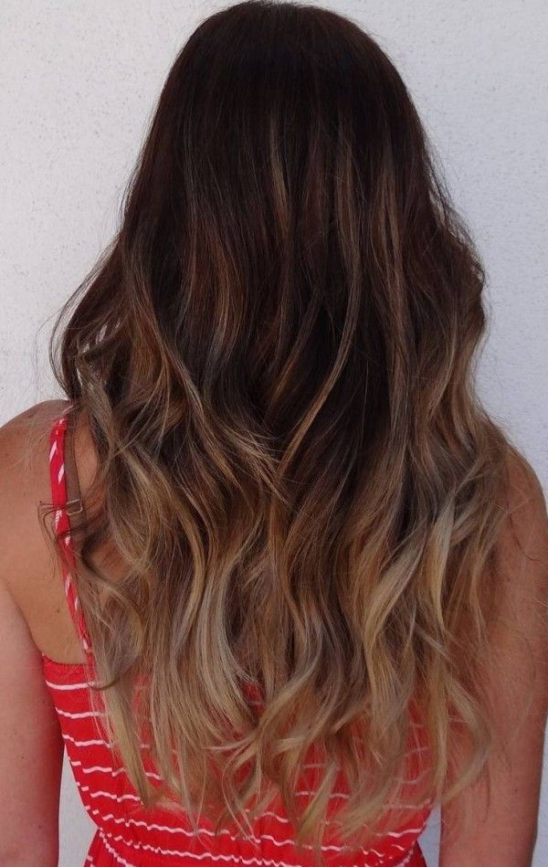 35 Visually Stimulating Ombre Hair Color For Brunettes Hair