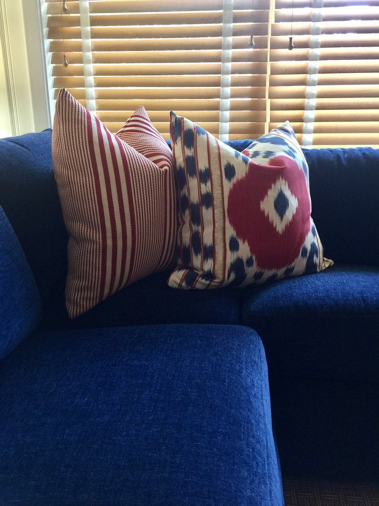 Sneak Peek At A Master Suite Project In Red White And Blue UX