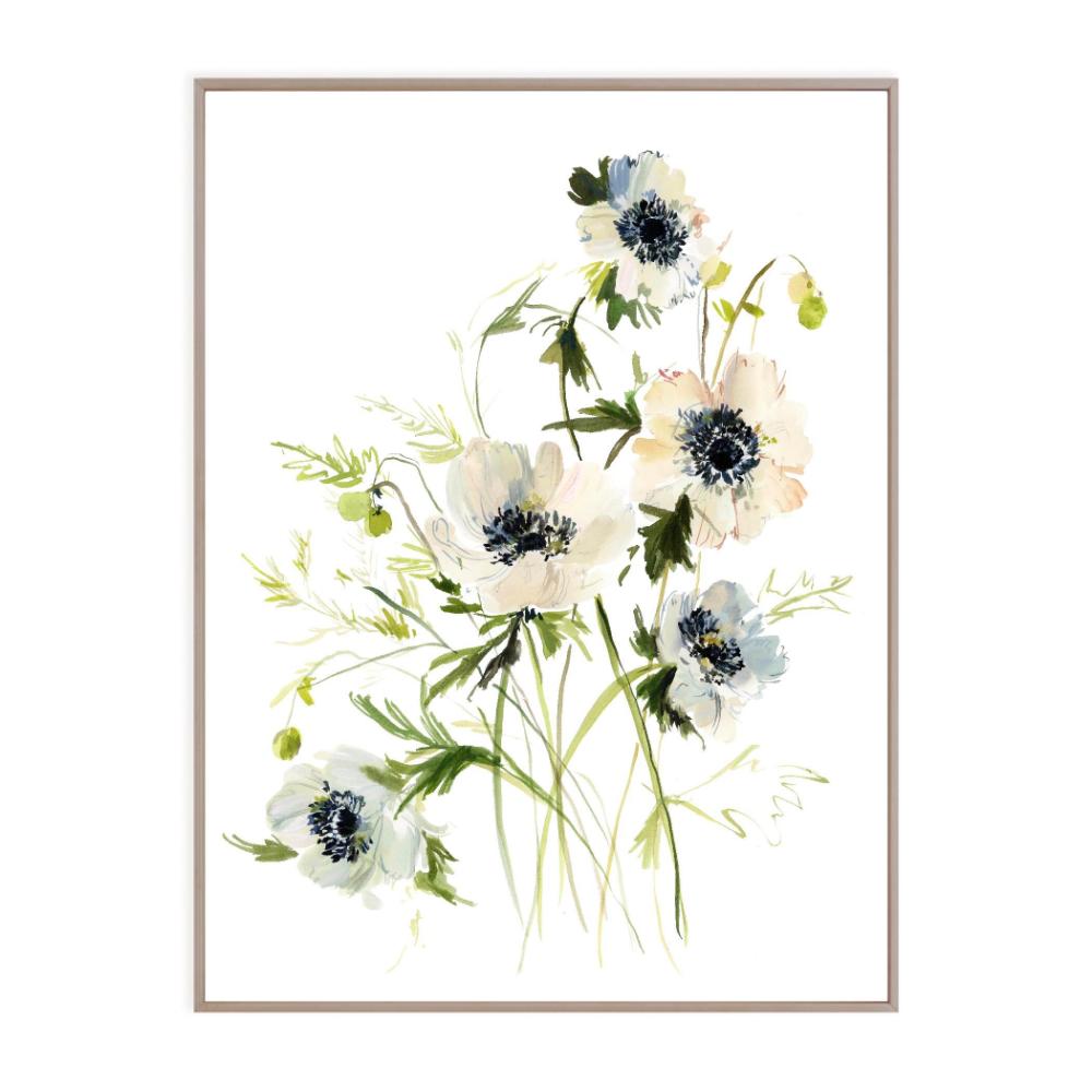 Anemones Kelly Ventura In 2020 Floral Art Paintings Floral Art Prints