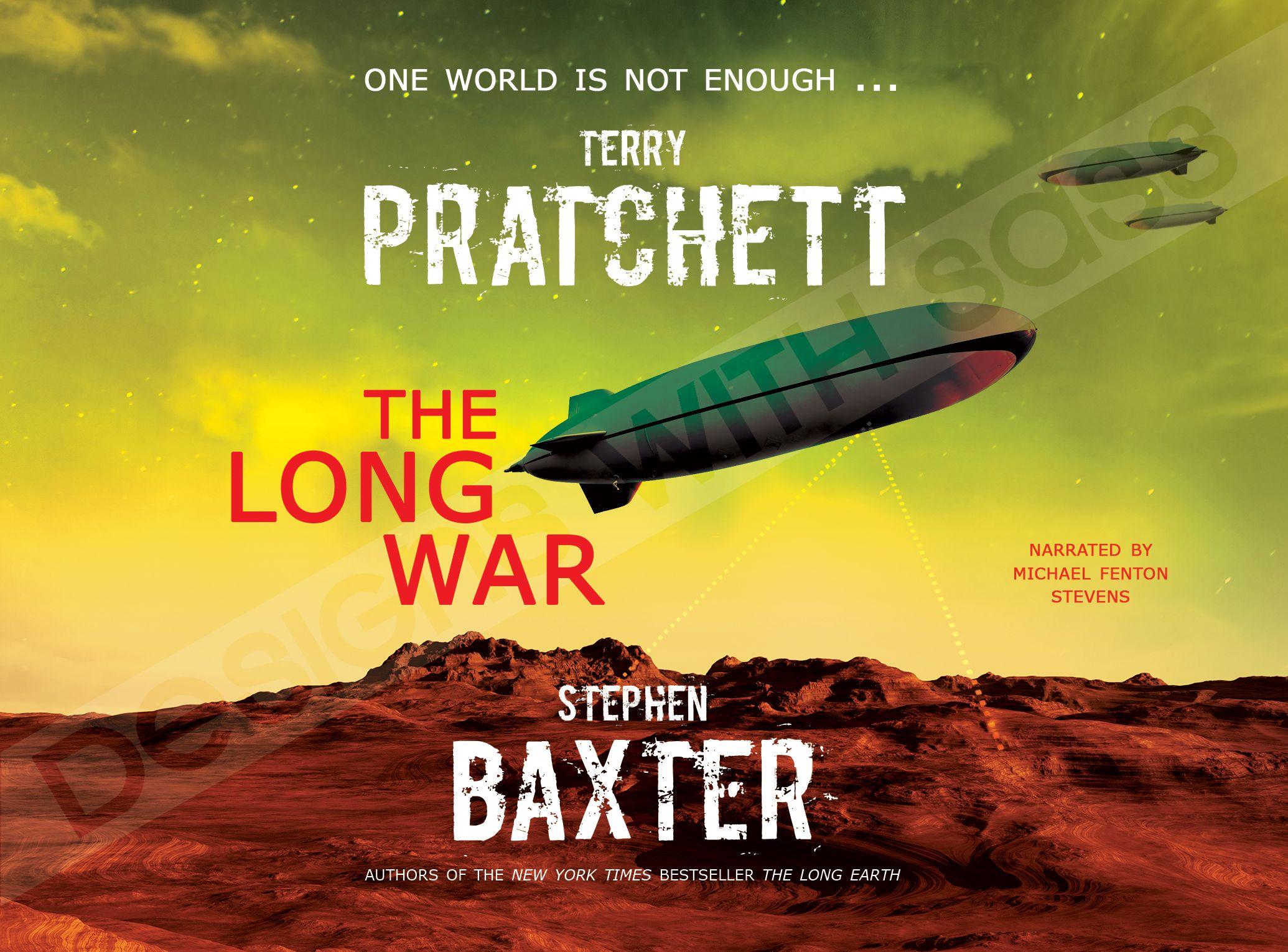 terrypratchett #thelongwar #bookcover #deisgn #paranormal