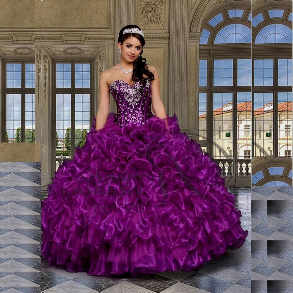 Vestidos-de-15-a%C3%B1os-morados+%287%29.jpg (1000×1000) | Diseño XV ...