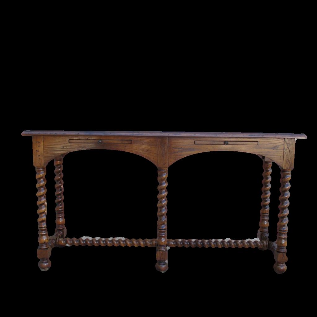 vintage sofa table. Vintage Henredon Console Table Sofa Furniture T