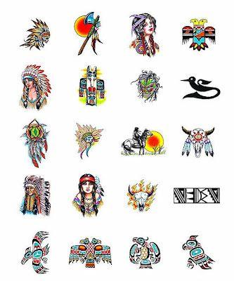 Native American Art Symbols 072412 Clipart Native American