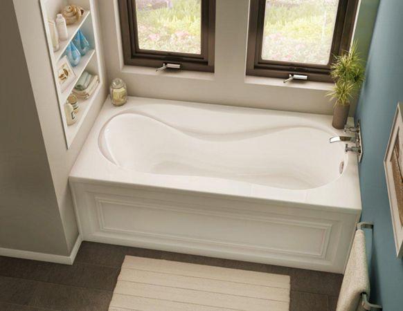 bain acrylique tablier brome bain brome en acrylique avec tablier int gr et bride de. Black Bedroom Furniture Sets. Home Design Ideas