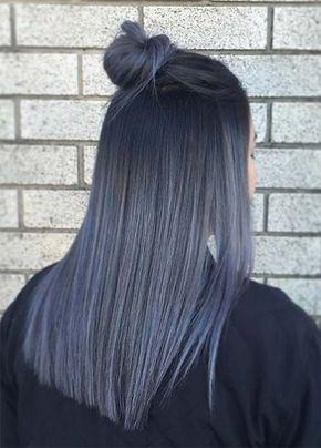 11+ Dark grey hair color ideas info