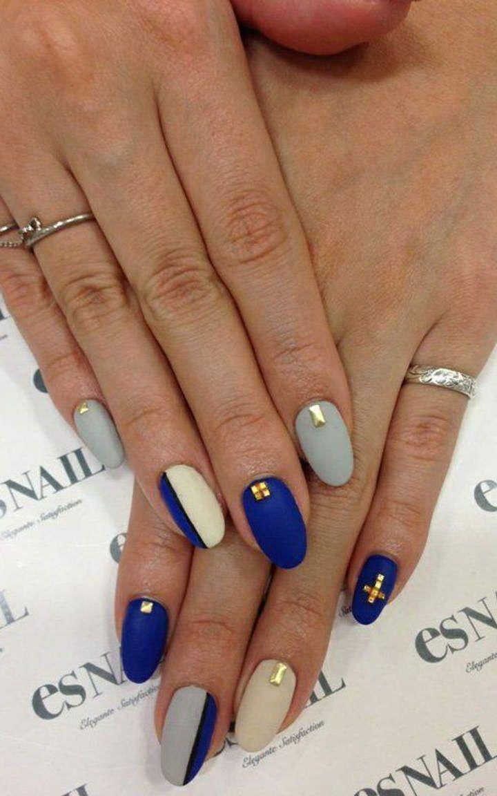 Royal Blue Nails 1 Stylizacja Paznokci Wzory Do Malowania