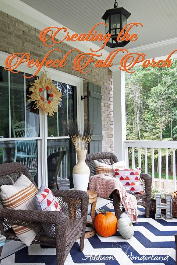 Creating the Perfect Fall Front Porch Tips
