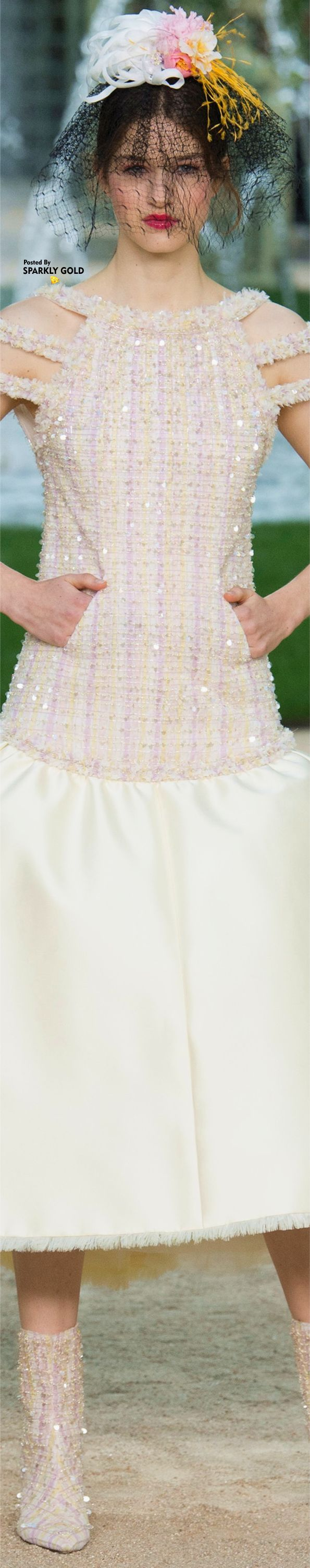 Chanel spring couture fashionchanel evening from