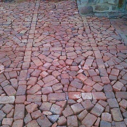 Upcycled Bricks Brick Patterns Patio Brick Patios Brick Paving