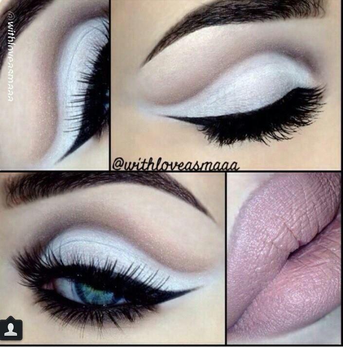 Pin On White Eyeshadow Makeup