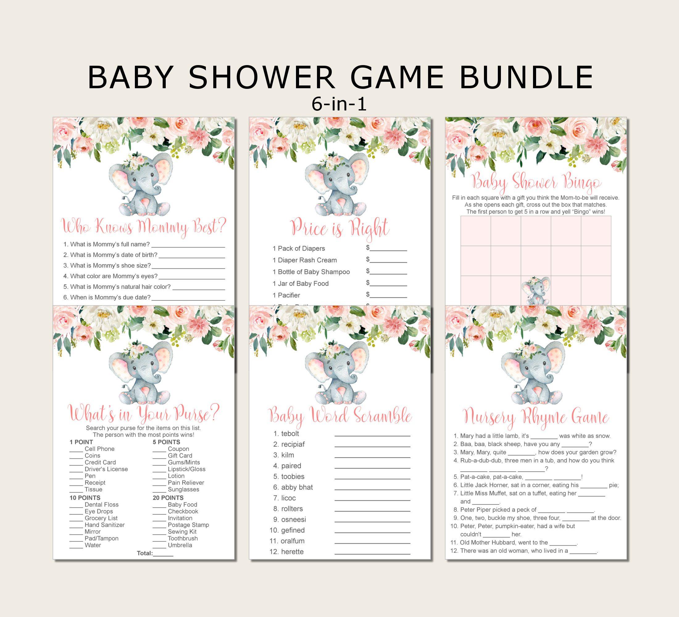 Boho Baby Shower Games Bundle Little Pumpkin Baby Shower Games Package 6 Games Printable INSTANT DOWNLOAD Fall Baby Shower Guess Who Bingo