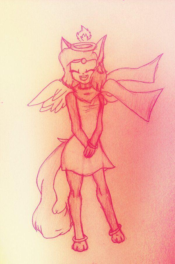 Fiery Angel  by TheEletroGuardian.deviantart.com on @DeviantArt