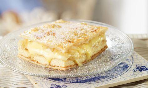 Apfel-Cremeschnitten für Eilige Rezept Dr Oetker Baking Pinterest - chefkoch käsekuchen muffins