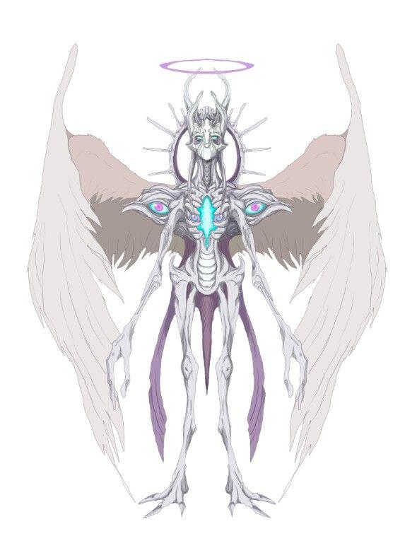 Uriel's true form   Supernatural angels, Supernatural fans