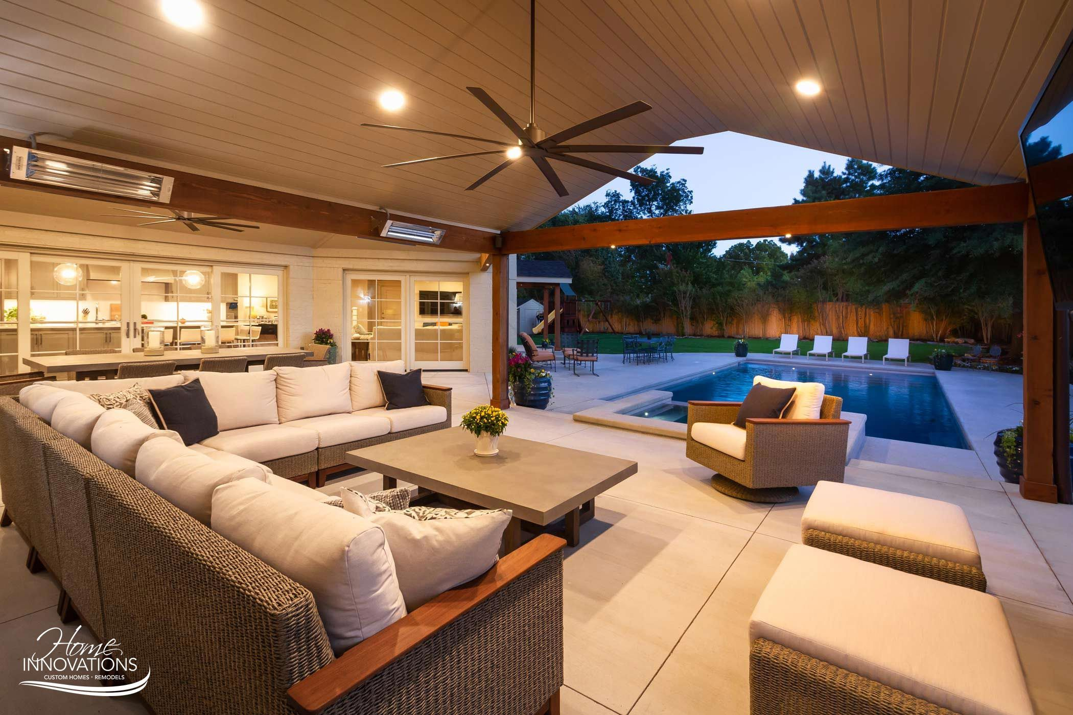 Outdoor Remodel | Tulsa Oklahoma - swimming pool, hot tub ... on Outdoor Living Pool And Spa id=76350