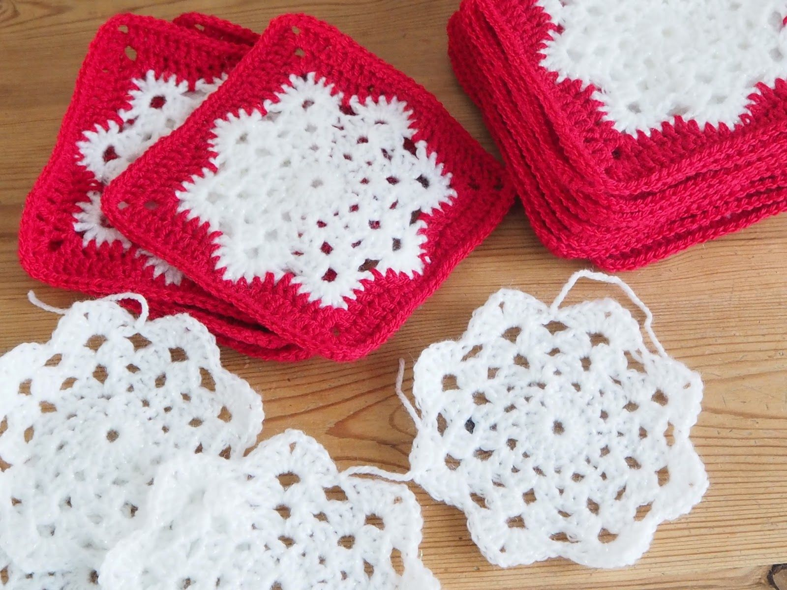 Betsy Makes ....: Little Snowflake Throw