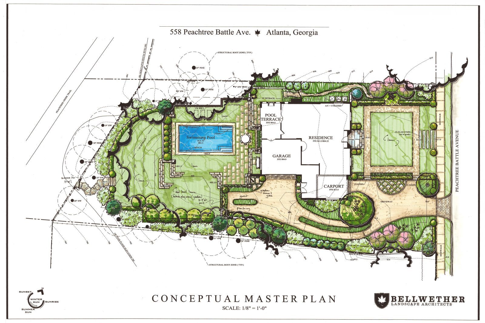 Landscape architecture portfolio layout google search for Landscape design sheets