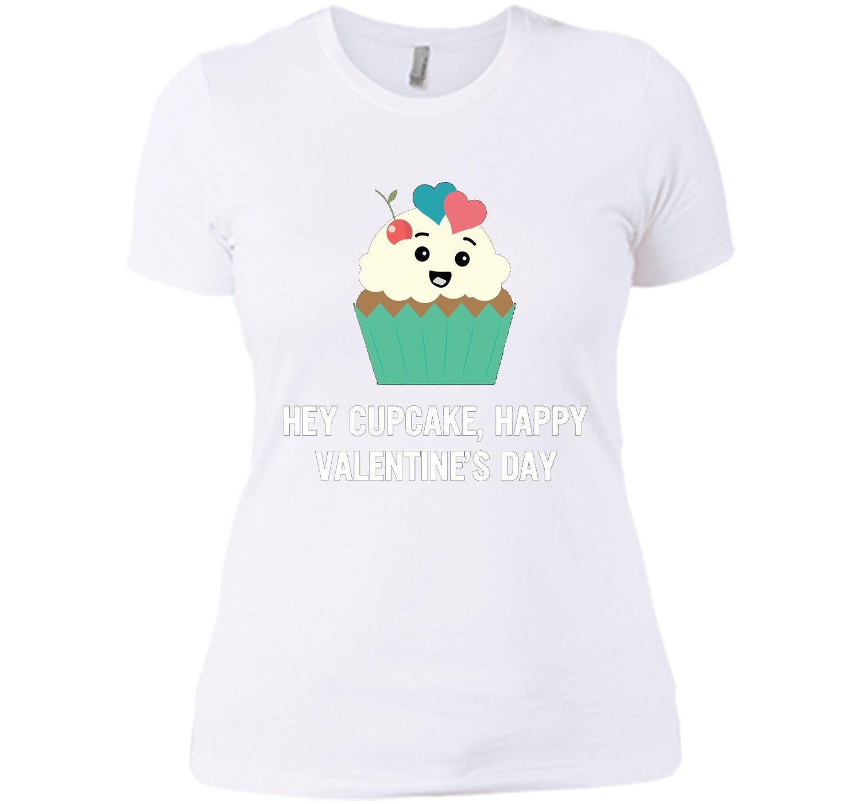 Funny Hey Cupcake, Happy Valentine Day T-Shirt