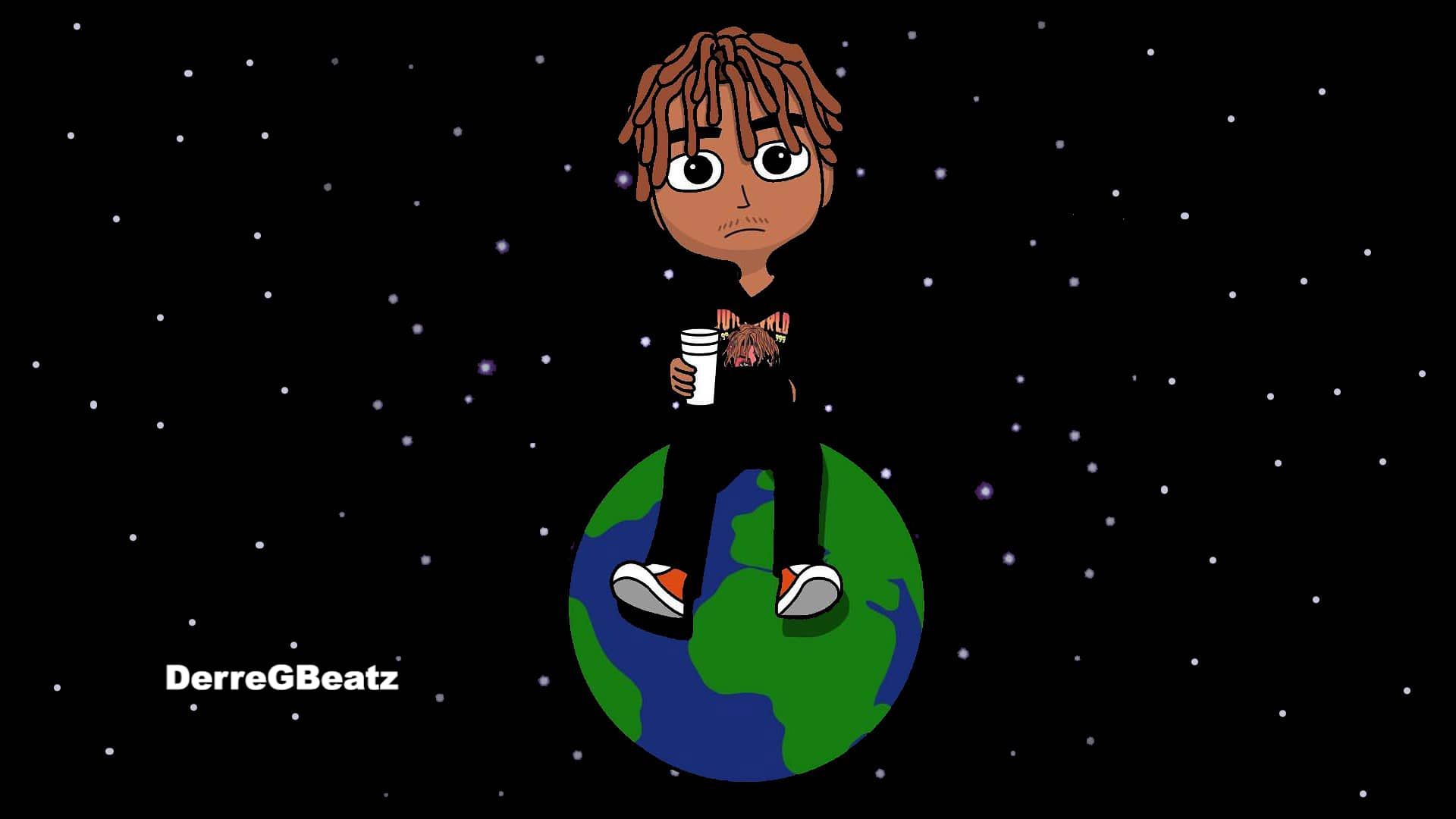 50 Juice Wrld Wallpapers Download At Wallpaperbro Cartoon Wallpaper Anime Wallpaper Animated Desktop Backgrounds