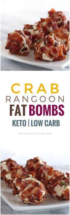 Crab Rangoon Fat Bombs #crabrangoondip