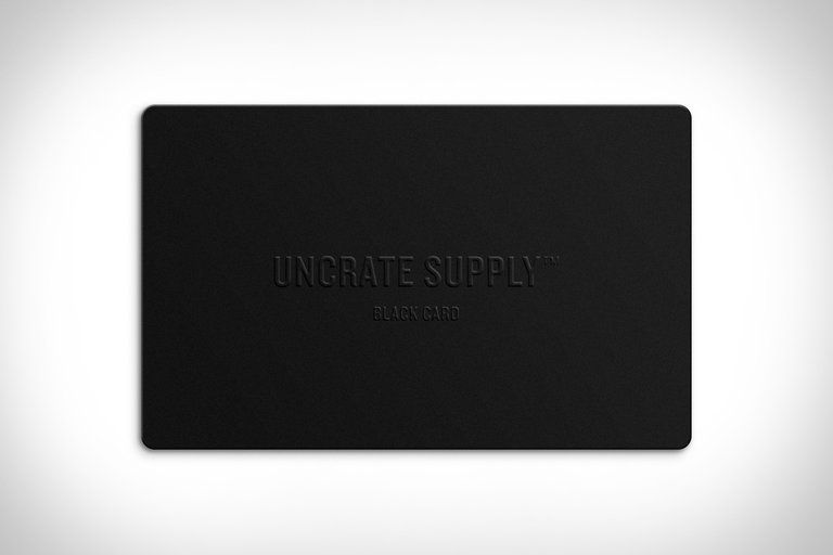 Uncrate Supply Black Card | Misc  | Cards, Cards against