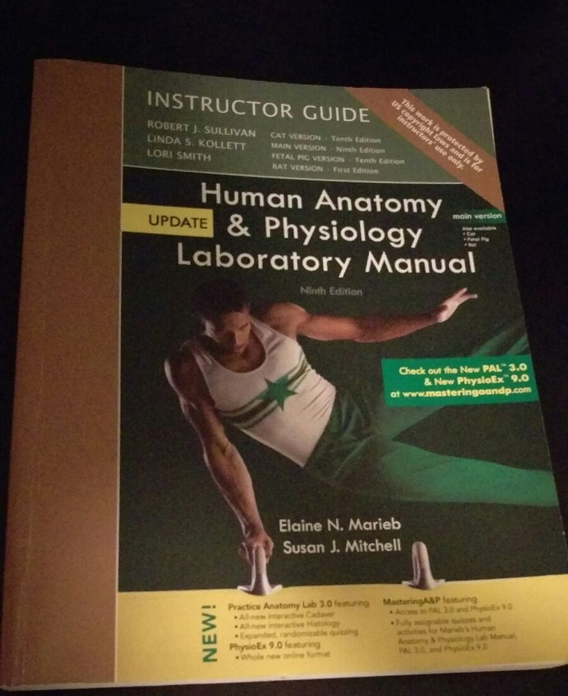 Human Anatomy Physiology Laboratory Manual 9th Edition Instructor ...