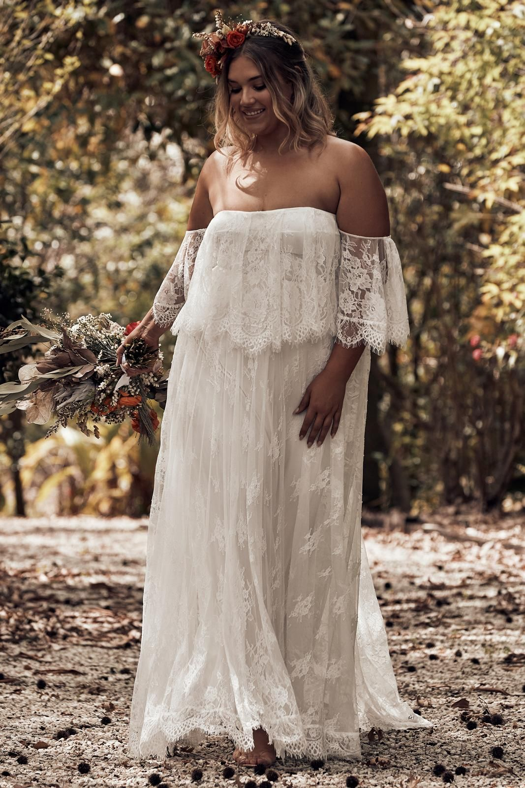 6288002b3c Florence Ivory | Wedding dresses | Wedding dresses, Bohemian wedding ...