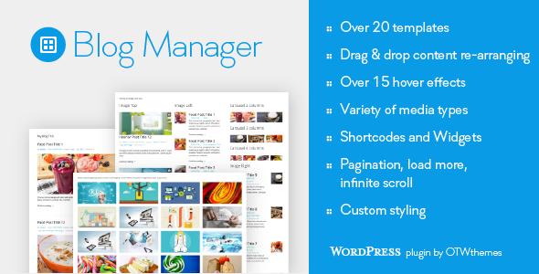 Blog Manager For Wordpress Wordpress Plugins Free Wordpress