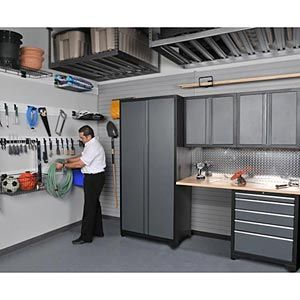 NewAge Products Inc. 5 Pc. Heavy Duty Workshop/ Garage Cabinetry