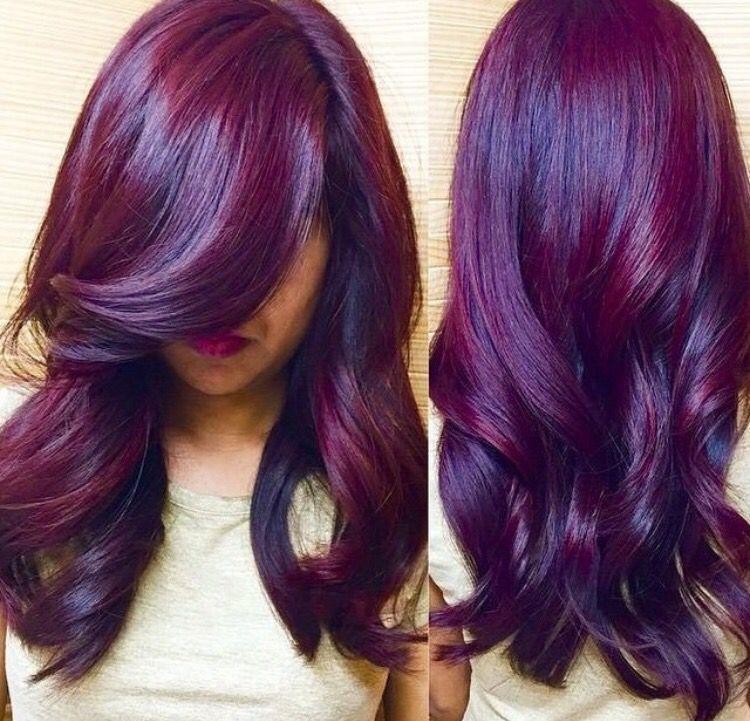 Violine Hair Styles Beautiful Hair Color Hair Color Purple