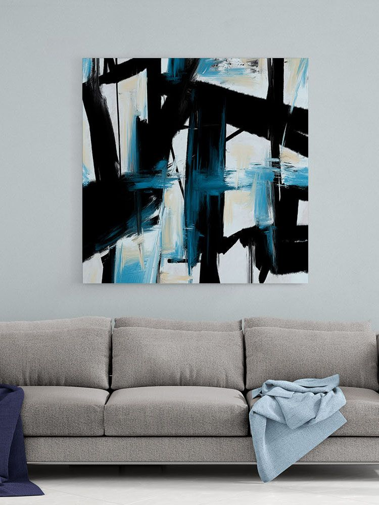 Abstract Canvas Art Large Painting On Canvas Contemporary Wall