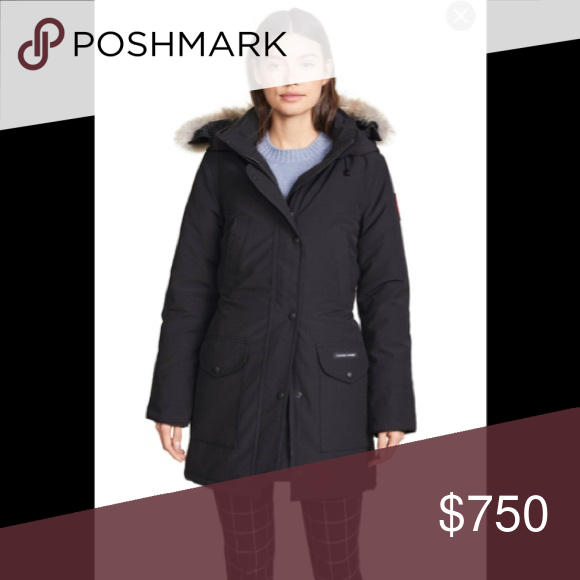 Women's Canada Goose 6550L Trillium parka. New without tags