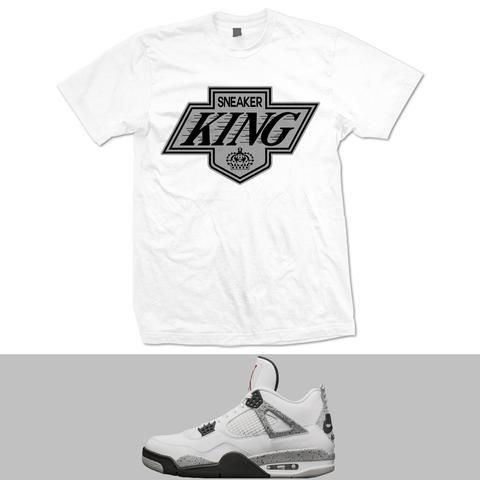retro 4 cement shirt