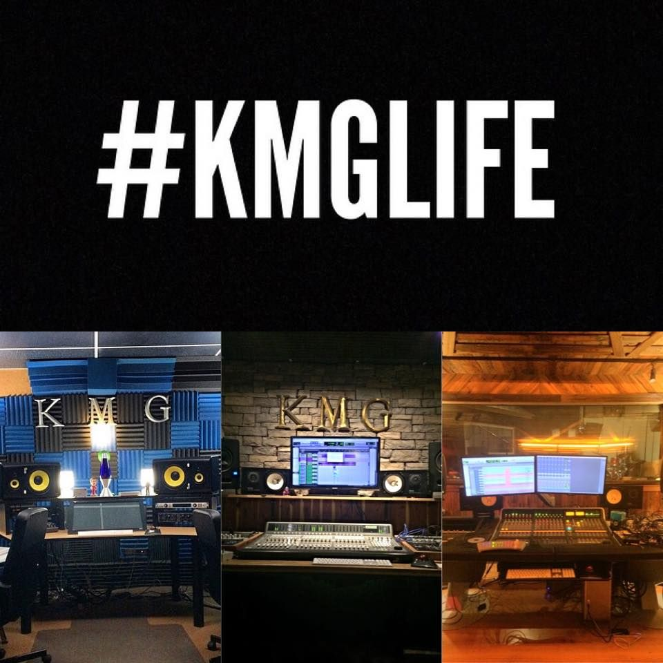 The three main recording studios WITHIN KMG Studios in