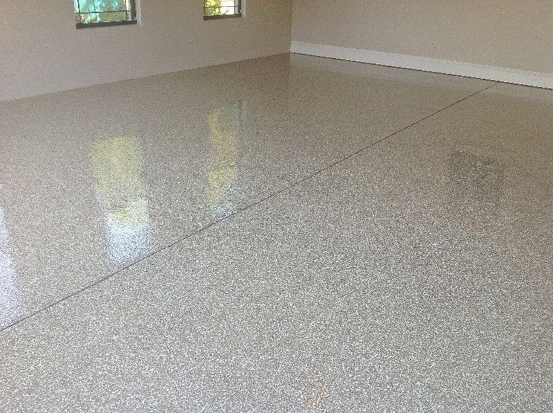 Fort myers chip color flake floor garage floor seamless