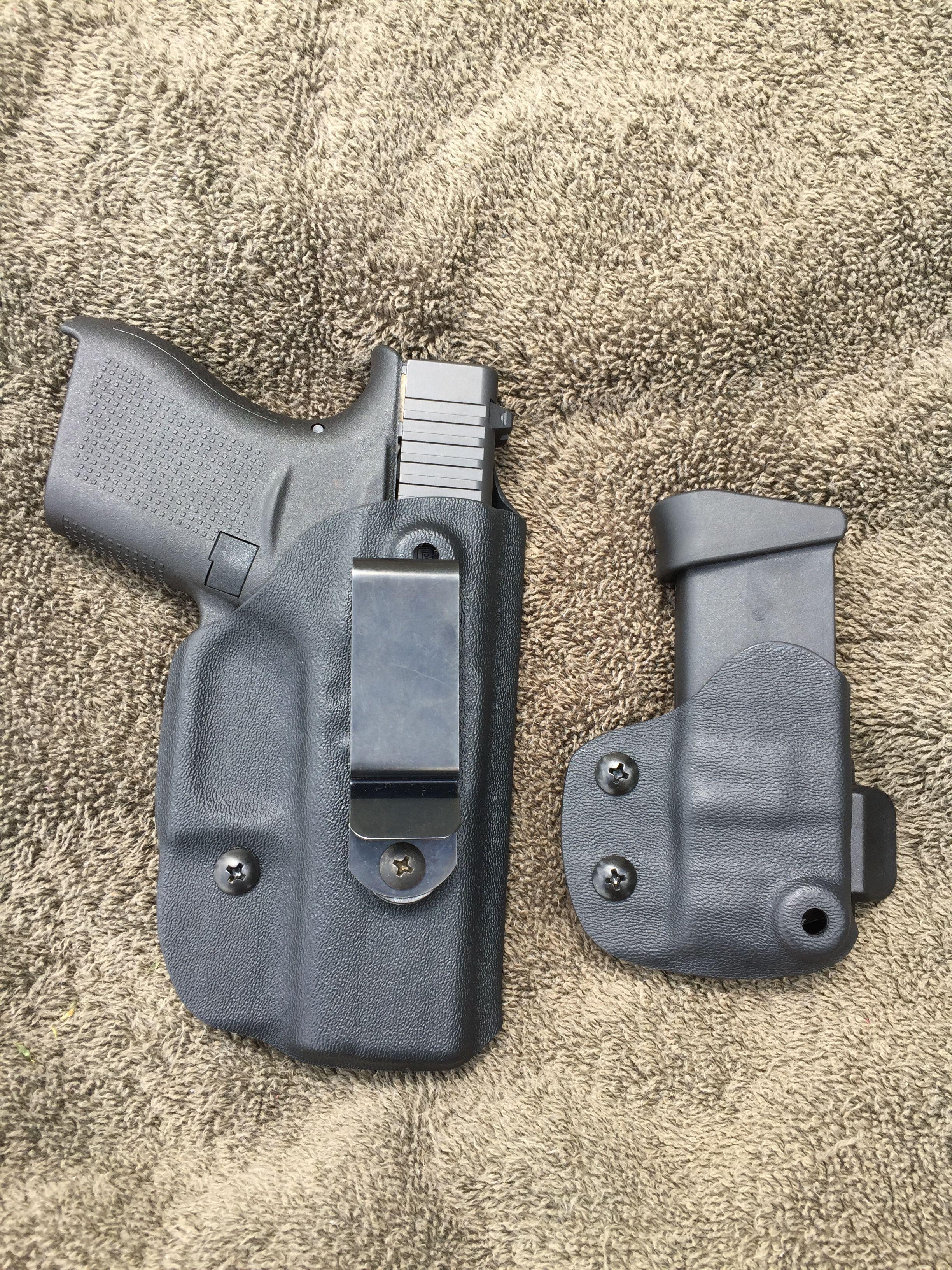 NEW! Glock 43 IWB Holster & G43 IWB/ OWB Magazine Carrier