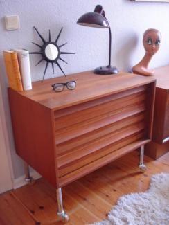 Teak Kommode Sideboard 50er 60er Jahre Danish Design Vintage In