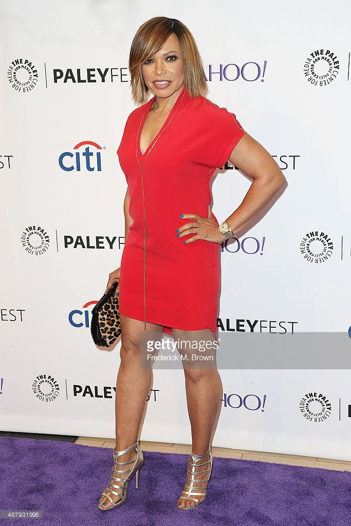 27c0dc0b7f Actress Tisha Campbell-Martin attends The Paley Center for Media s  PaleyFest 2015 Fall TV Preview for ABC at The Paley Center for Media on  September 12