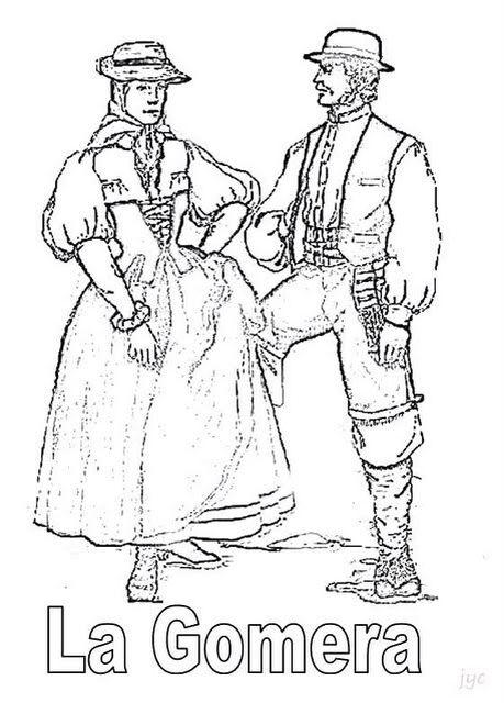 Trajes Canarios Vestimenta Tradicional Traje Regional Traje Tipico