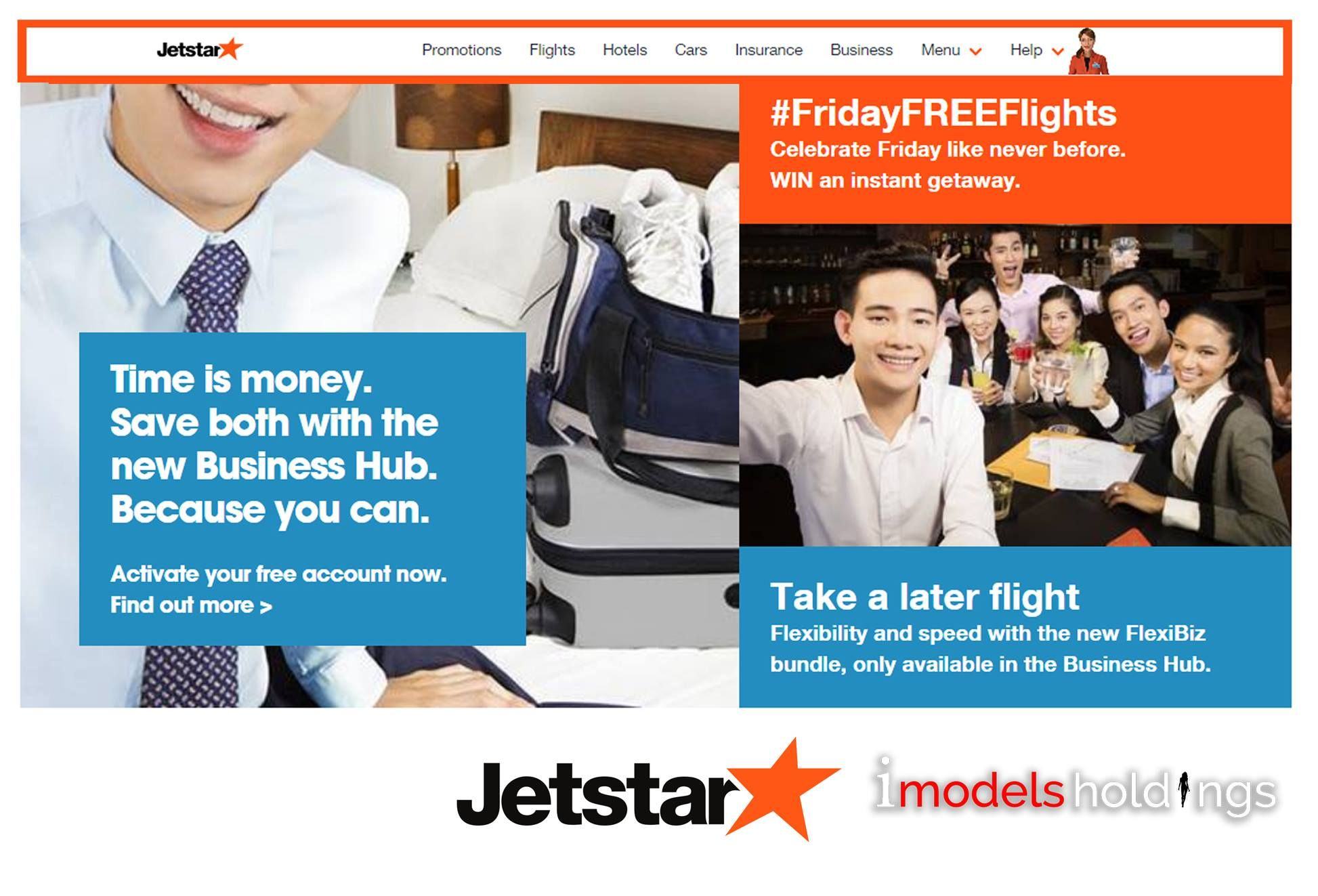 Our models, Jaymie and Rose in this Jetstar print