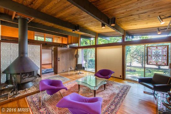 On The Market 1960s Poldi Hirsch Designed Midcentury Property In Havre De Grace Maryland Usa