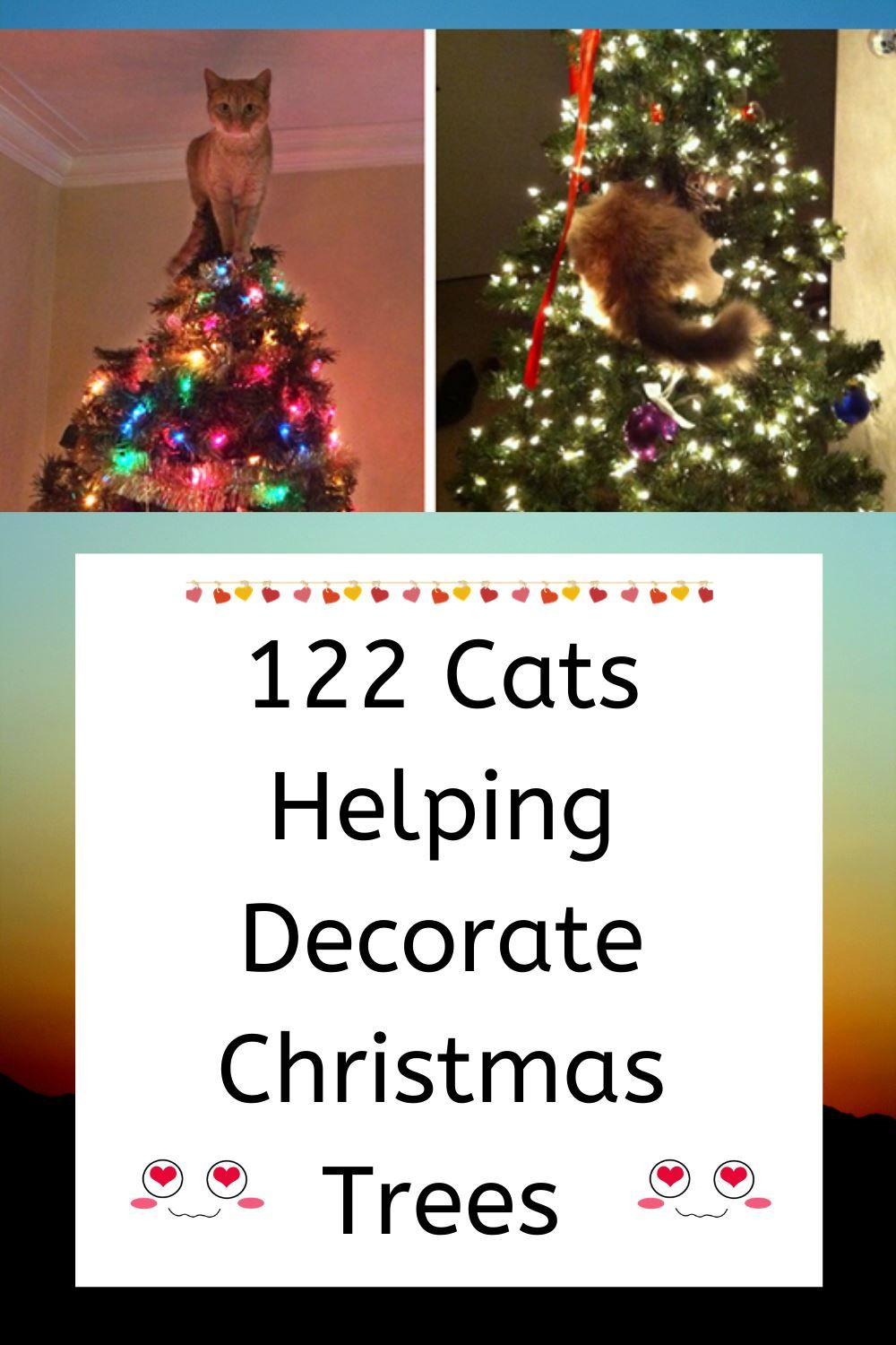 122 Cats Helping Decorate Christmas Trees In 2020 Christmas Tree Decorations Christmas Tree Cat Christmas Tree