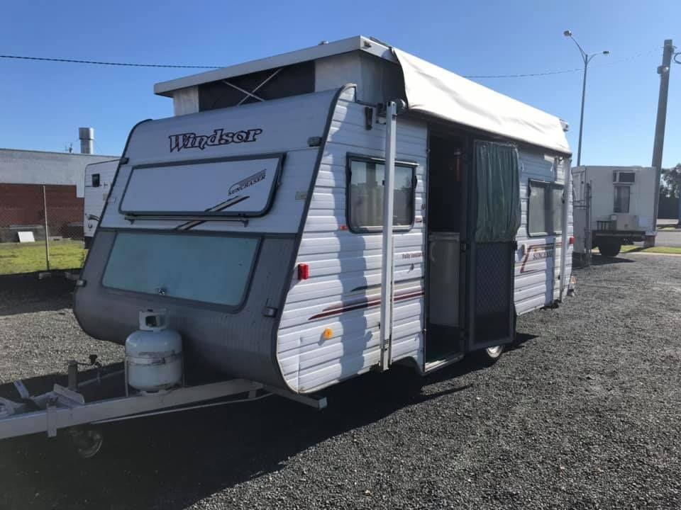 New Arrival Windsor Poptop 17 Www Newcaravans Com Au Pop Top Caravans Recreational Vehicles
