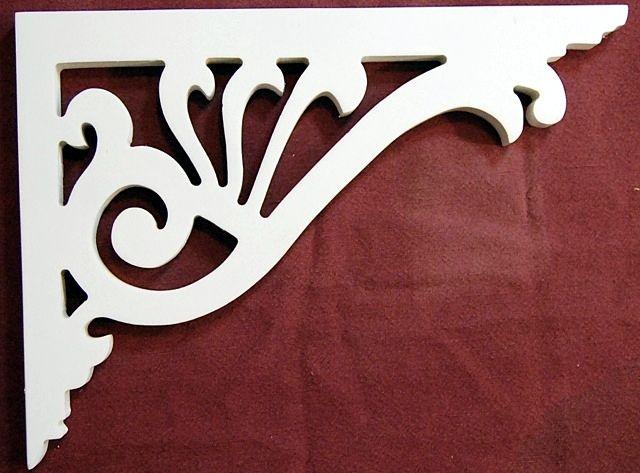 Victorian Exterior Bracket Style B 35 Porch Brackets