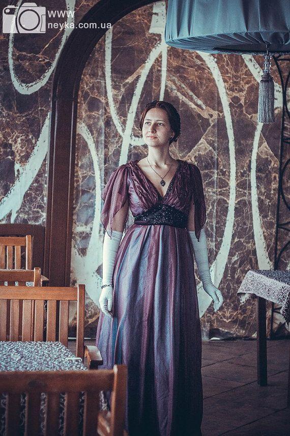 Downton Abbey-inspirierten Abendkleid von DressArtMystery auf Etsy ...