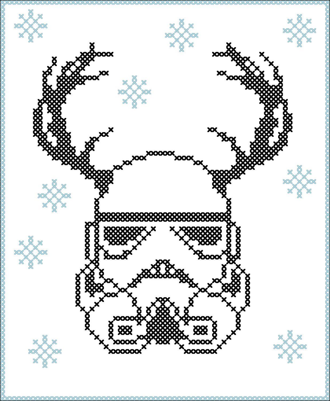 BOGO FREE! Merry Christmas - FUNNY Christmas deer Stormtrooper Star ...
